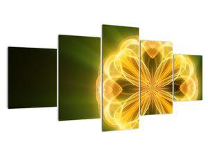 Obraz žluté květiny (V020451V150805PCS)