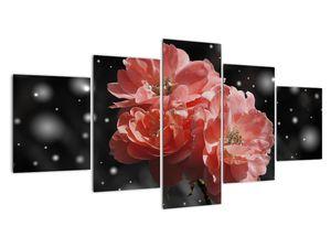Obraz růžové květiny (V020471V150805PCS)