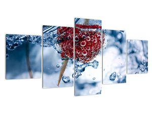 Kép - málna részlete a vízben (V020516V150805PCS)