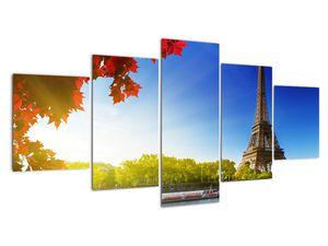 Obraz - podzim v Paříži (V020534V150805PCS)