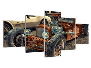 Obraz hnědého auta (V020538V150805PCS)