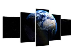 Föld és a Hold képe (V020671V150805PCS)