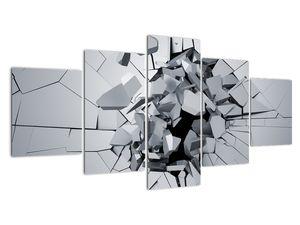 Obraz abstrakce 3D (V020700V150805PCS)