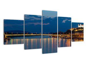 Obraz Bratislavy s hradem (V020704V150805PCS)