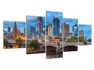 Obraz města Melbourne (V020715V150805PCS)