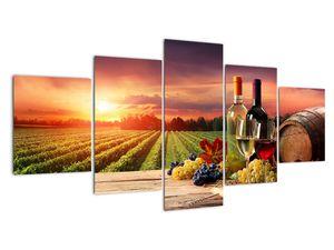 Obraz vinice s vínem (V020717V150805PCS)