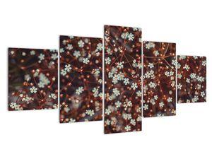 Obraz květiny Pomněnka lesní (V020811V150805PCS)