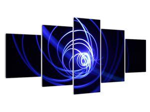 Kék spirálok képe (V020815V150805PCS)