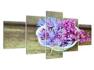 Obraz dekorace s levandulí (V020874V150805PCS)