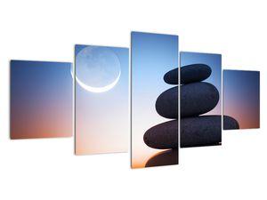 Obraz poskládaných kamenů na sobě (V020903V150805PCS)