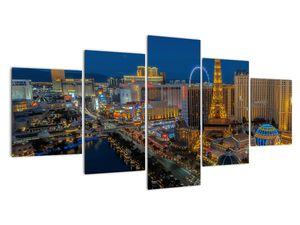 Obraz nočního Las Vegas (V021010V150805PCS)