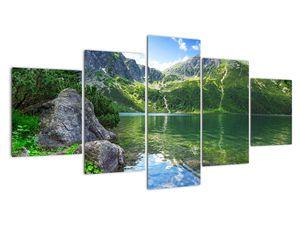 Slika jezera v Tatrah (V021101V150805PCS)