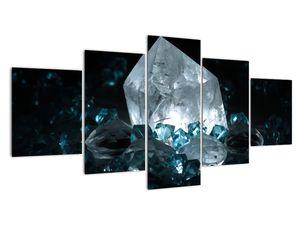 Schilderij - Kristal (V021107V150805PCS)