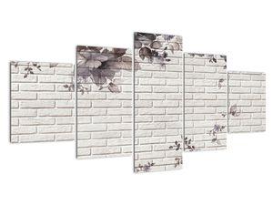 Obraz zdi s kyticí (V021111V150805PCS)