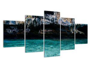 A víz és a sziklák képe (V021152V150805PCS)