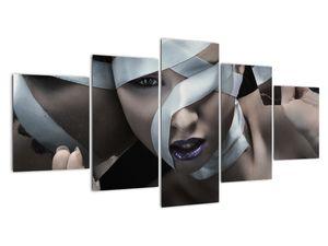 Slika žene s vrpcom (V021278V150805PCS)