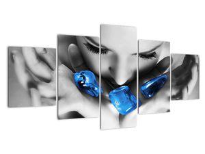 Slika portreta žene s kamenjem (V021283V150805PCS)