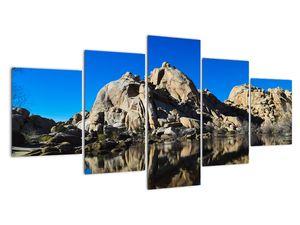 Obraz zrkadlenie skál (V021327V150805PCS)