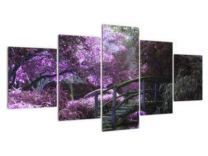 Obraz - Mystická zahrada (V021630V150805PCS)
