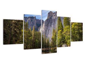 Kép - A Yosemite szikla alatt (V021691V150805PCS)