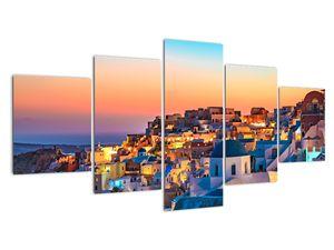 Obraz - Santorini při setmění (V021709V150805PCS)