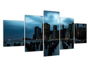 Obraz - Pohled na mrakodrapy New Yorku (V021719V150805PCS)