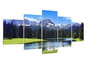 Kép - havas hegycsúcsok (V021908V150805PCS)