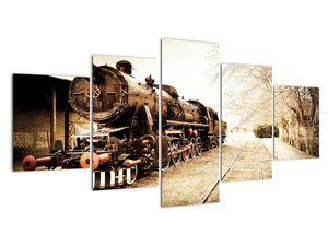 Slika - Povijesna lokomotiva (V021959V150805PCS)