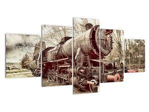 Povijesna slika lokomotive (V021965V150805PCS)