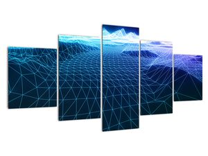 Slika - Planine u računalnom modelu (V022019V150805PCS)