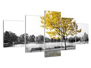 Obraz - Odpočinek v parku (V022039V150805PCS)