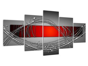 Abstraktionsbild (V022070V150805PCS)