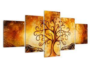 Naravna abstraktna slika drevesa (V022111V150805PCS)