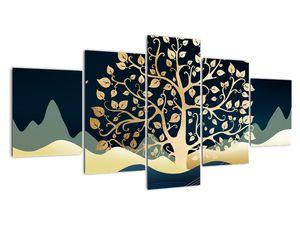 Slika zlatega drevesa (V022286V150805PCS)