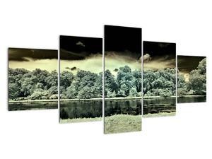 A víz felszínének képe (V022315V150805PCS)