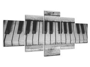 Egy régi zongora képe (V022562V150805PCS)