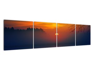 Híd képe naplementekor (V020012V16040)