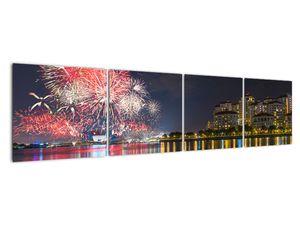 Tablou cu artificii in Singapur (V020035V16040)