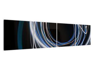 Tablou cu linii albastre (V020053V16040)