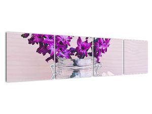 Obraz fialových květin (V020367V16040)