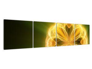 Obraz žluté květiny (V020451V16040)
