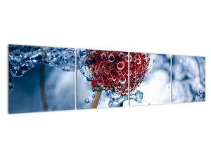 Kép - málna részlete a vízben (V020516V16040)