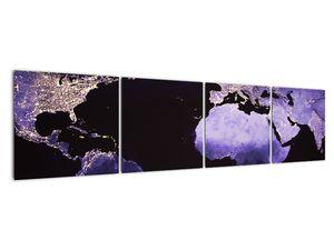 Tablou Pământului din Cosmos (V020649V16040)