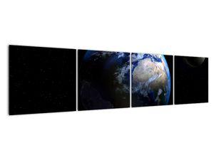 Föld és a Hold képe (V020671V16040)