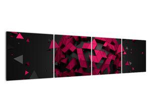 Obraz 3D abstrakce (V020866V16040)