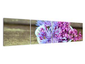 Obraz dekorace s levandulí (V020874V16040)
