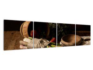 Obraz špargle na stole (V020883V16040)