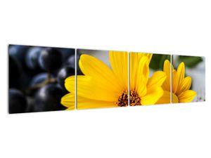 Obraz žluté květiny (V020952V16040)