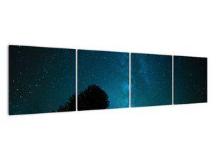 Obraz nočnej oblohy s hviezdami (V021100V16040)