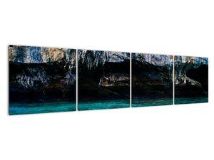 A víz és a sziklák képe (V021152V16040)